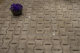 Schachtabdeckung Edelstahl SAP-20/5E Schachtdeckel auspflasterbar 200x200 befliesbar bepflanzbar befüllbar wasserdicht Höhe 50mm