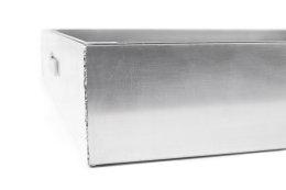 Schachtabdeckung Edelstahl SAP-70/8E Schachtdeckel auspflasterbar 700x700 befliesbar bepflanzbar befüllbar wasserdicht Höhe 80mm