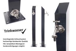 TRINKWASSER Wassersäule TSQS 1030 Anthrazit,...