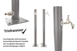 TRINKWASSER Wassersäule TSRG 650 Beton Optik Stein...