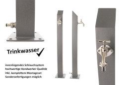 TRINKWASSER Wassersäule TSQS 1030 Beton Optik Stein...