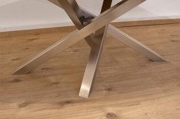 Kreuzgestell Edelstahl V2A MI-KADO 60x60 L1400 Tischgestell Küchentisch Esstisch Tischuntergestell X-Gestell