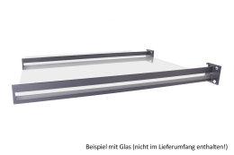 Vordachhalter Anthrazit Grau VL-650 (1 Paar) Schlitz...