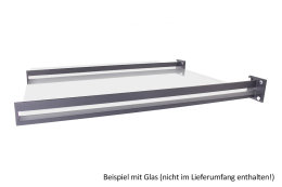 Vordachhalter Anthrazit Grau VL-1050 (1 Paar) Schlitz...