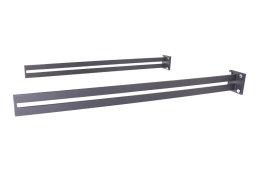 Vordachhalter Anthrazit Grau VL-1050 (1 Paar) Schlitz Vordachsystem Vordach Vordachträger Stahlvordach Glasvordach Türvordach Haustür Halter