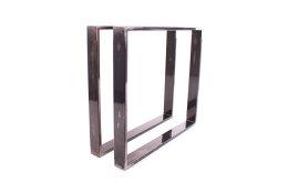 Tischgestell Rohstahl TR80k-900 breit Tischuntergestell...