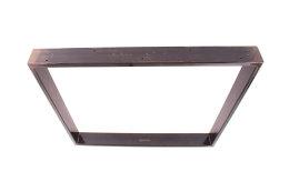 Tischgestell Rohstahl TR80k-900 breit Tischuntergestell Tischkufe Kufengestell (1 Paar)