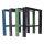 Profi Werkbankgestell Stahl WBG-550/550-850 Arbeitstisch höhenverstellbar Packtisch Werkbank Werkstatt Werkbankfuß Untergestell Werktisch Metall Stahlfuß (1 Stück)