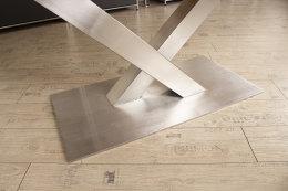 Kreuzgestell Edelstahl V2A Paris 100x100 L1400 Tischgestell Küchentisch Esstisch Tischuntergestell X-Gestell