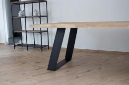 Tischgestell Stahl TGFe 150x10 sms 700 (550) schwarz...