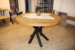 Kreuzgestell Stahl schwarz matt Rio 60x60 L750 Tischgestell Küchentisch Esstisch Tischuntergestell X-Gestell