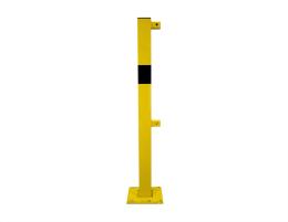 Rammschutzgeländersystem Endpfosten70x70-1000mm mit...