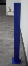 TRINKWASSER Wassersäule Stahl TSQG 950 blau glänzend (1 Stück)