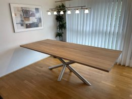 Tischgestell Edelstahl geschliffen K240 London Ø...