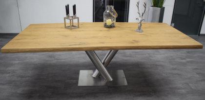 Kreuzgestell Edelstahl V2A RomØ 114,3 L1100 Esstisch Tischgestell Wohnzimmer Tisch Spider Küchentisch Tischuntergestell X-Gestell