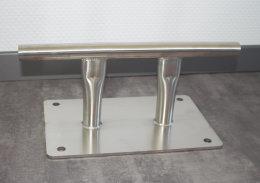 Edelstahl Klampe/ Doppelpoller L:350mm für...