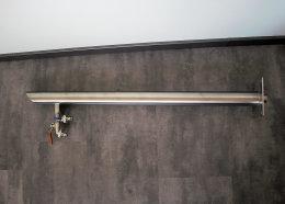 Brauchwassersäule Wasserzapfstelle Edelstahl...