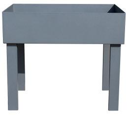 Hochbeet Stahl HBS 100x40-1000/1140/745mm anthrazit matt Struktur