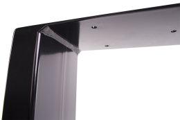 Tischgestell schwarz TU100s-900 breit Tischuntergestell Tischkufe Kufengestell (1 Paar)