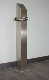 Brauchwassersäule Edelstahl SQS-740mm 1 Zoll...