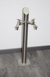 Brauchwasser Wassersäule Edelstahl SRS-720mm K240...
