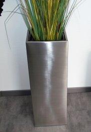 Pflanztopf Edelstahl UNO-1070x290mm K240 geschliffen (1 Stück)