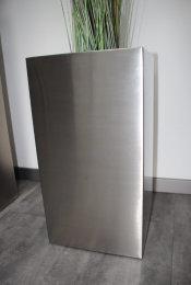 Pflanztopf Edelstahl UNO-540x290mm K240 geschliffen (1 Stück)