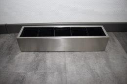 Pflanztopf Edelstahl MULTI6-510x100mm K240 geschliffen (1...