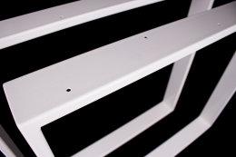 Tischgestell weiß TR80w-500 breit Tischuntergestell Tischkufe Kufengestell (1 Paar)