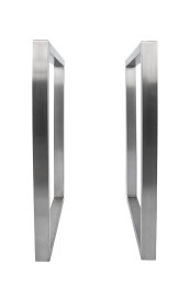 Tischgestell Edelstahl TRG 50x30 700 Untergestell Kufen Tischuntergestell, 1 Stk