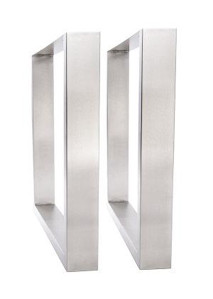 tischgestell edelstahl 500 breit tu100 500 tischuntergestell tischkuf. Black Bedroom Furniture Sets. Home Design Ideas