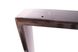 Tischgestell Rohstahl TR80k-700 breit Tischuntergestell Tischkufe Kufengestell (1 Rahmen)