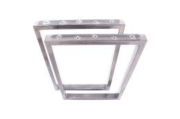 Tischgestell Rohstahl TRGk-800 breit Tischuntergestell Tischkufe Kufengestell (1 Rahmen)