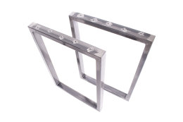 Tischgestell Rohstahl TRGk-900 breit Tischuntergestell Tischkufe Kufengestell (1 Rahmen)