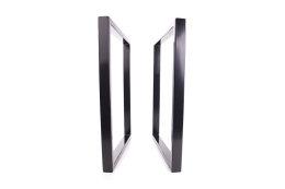 Tischgestell schwarz TRGs-700 breit Tischuntergestell Tischkufe Kufengestell (1 Rahmen)