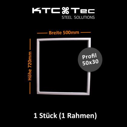 Tischgestell weiß TRGw-500 breit Tischuntergestell Tischkufe Kufengestell (1 Rahmen)