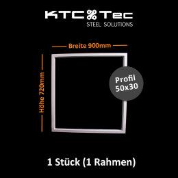 Tischgestell weiß TRGw-900 breit Tischuntergestell Tischkufe Kufengestell (1 Rahmen)