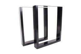 Tischgestell schwarz TU100s-800 breit Tischuntergestell Tischkufe Kufengestell (1 Rahmen)