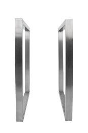 Tischgestell Edelstahl TRG 50x30 700 Untergestell Kufen Tischuntergestell, 2 Stk