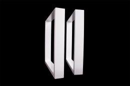 Tischgestell weiß TU100w-800 breit Tischuntergestell Tischkufe Kufengestell (1 Paar)
