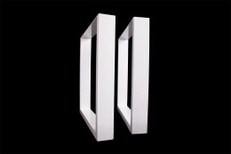 Tischgestell weiß TU100w-500 breit Tischuntergestell Tischkufe Kufengestell (1 Rahmen)