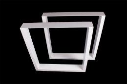 Tischgestell weiß TU100w-900 breit Tischuntergestell Tischkufe Kufengestell (1 Rahmen)