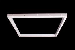 Tischgestell weiß TRGw-600 breit Tischuntergestell Tischkufe Kufengestell (1 Paar)