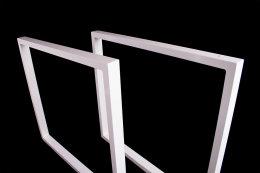 Tischgestell weiß TRGw-900 breit Tischuntergestell Tischkufe Kufengestell (1 Paar)