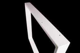 Tischgestell weiß TR80w-600 breit Tischuntergestell Tischkufe Kufengestell (1 Paar)