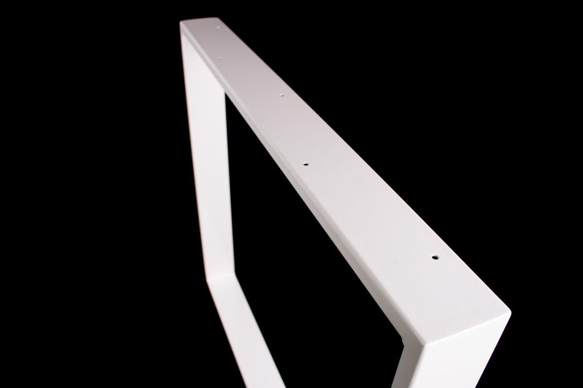 Tischgestell weiß TR80w-800 breit Tischuntergestell Tischkufe Kufengestell