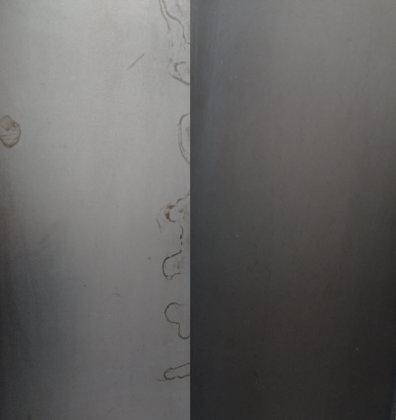 Rohstahl pulverbeschichtet (magnetisch)