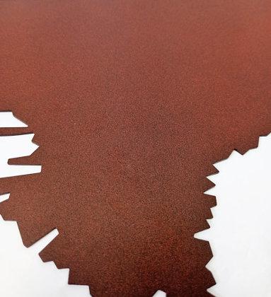 Rostoptik pulverbeschichtet (magnetisch)