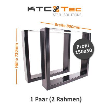 Breite 800 mm - 1 Paar (2 Rahmen)