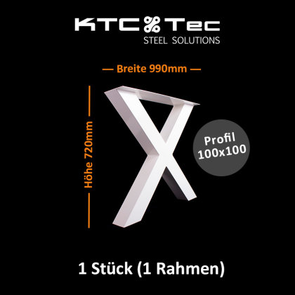 Breite 990 mm - 1 Stück (1 Rahmen)
